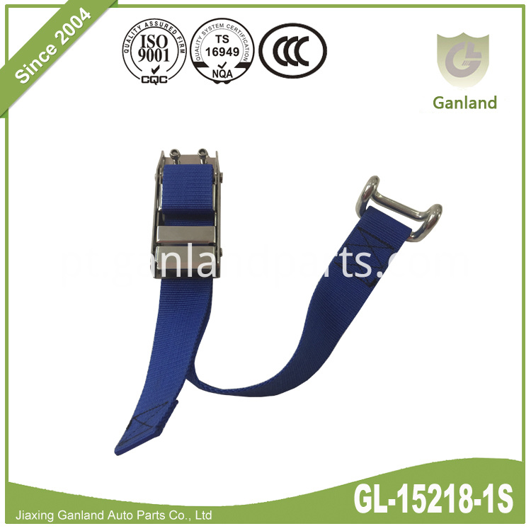 Stainless Steel Over-Center Buckle GL-15218-1S