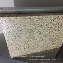 Alunewall diferentes tipos de panel de pared de fachada barato A2 / B1 grado incombustible mármol de piedra Aluminio plástico Panel compuesto