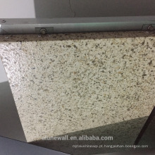 Alunewall diferentes tipos de painel de parede barato fachada A2 / B1 grau de pedra à prova de fogo de mármore Painel Composto de plástico de Alumínio
