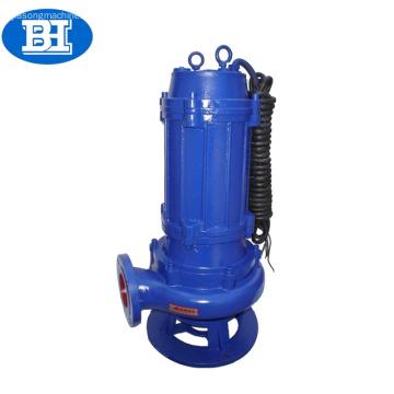 Liste des pompes submersibles verticales du moteur électrique série QW