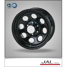 Roda de roda de reboque das rodas do cromo do preto do design novo de qualidade superior