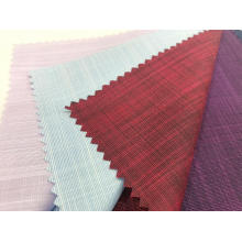 45% Superfine 55% Bamboo Tissu teint en coton tissé