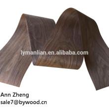 Chapa de madera de nogal negro de alta calidad