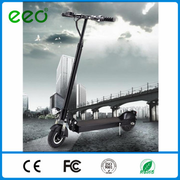 36v 8.8ah lithium battery 8inch flat-free 2 wheel stand up electric adult kick scooter