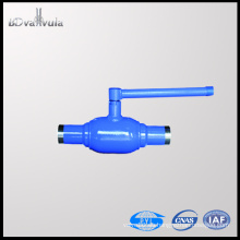 Válvula de bola de acero de carbono de la válvula de bola del flotador