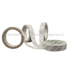 High quality double sided polyester tape, available your logo, OEM orders are welcome