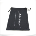 Black and Soft Microfiber Gift Bag with Offset Printing
