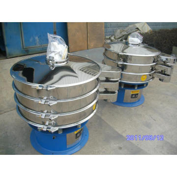 Sulphur powder sieving machine