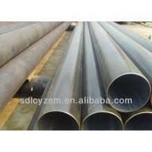 Tubo y tubo de acero soldado con autógena ERW