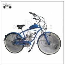 Partihandel 26 tum 50cc strand stil gasmotorcykler / gasdrivna cyklar till salu