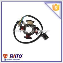 Para peças de motocicleta CG125D montagem de bobina de estator de magneto