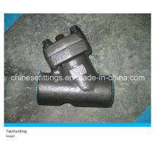 A105 Углеродистая стальная кованая резьбовая сетка Y