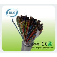 Многожильный кабель, заполненный телефонными проводами, телефонными проводами