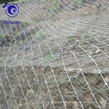 Rede ativa da malha da corda do sistema de proteção da inclinação / da corda da aranha / rede da queda de pedras