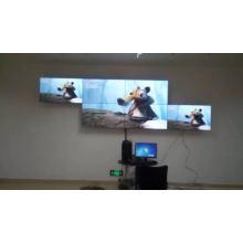 Настенное крепление узкого Шатона нерегулярные Сплайсинга ЖК-видео стены, монитор
