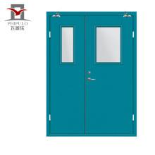 Puertas modernas de hierro forjado de seguridad de acero barato para el hogar.