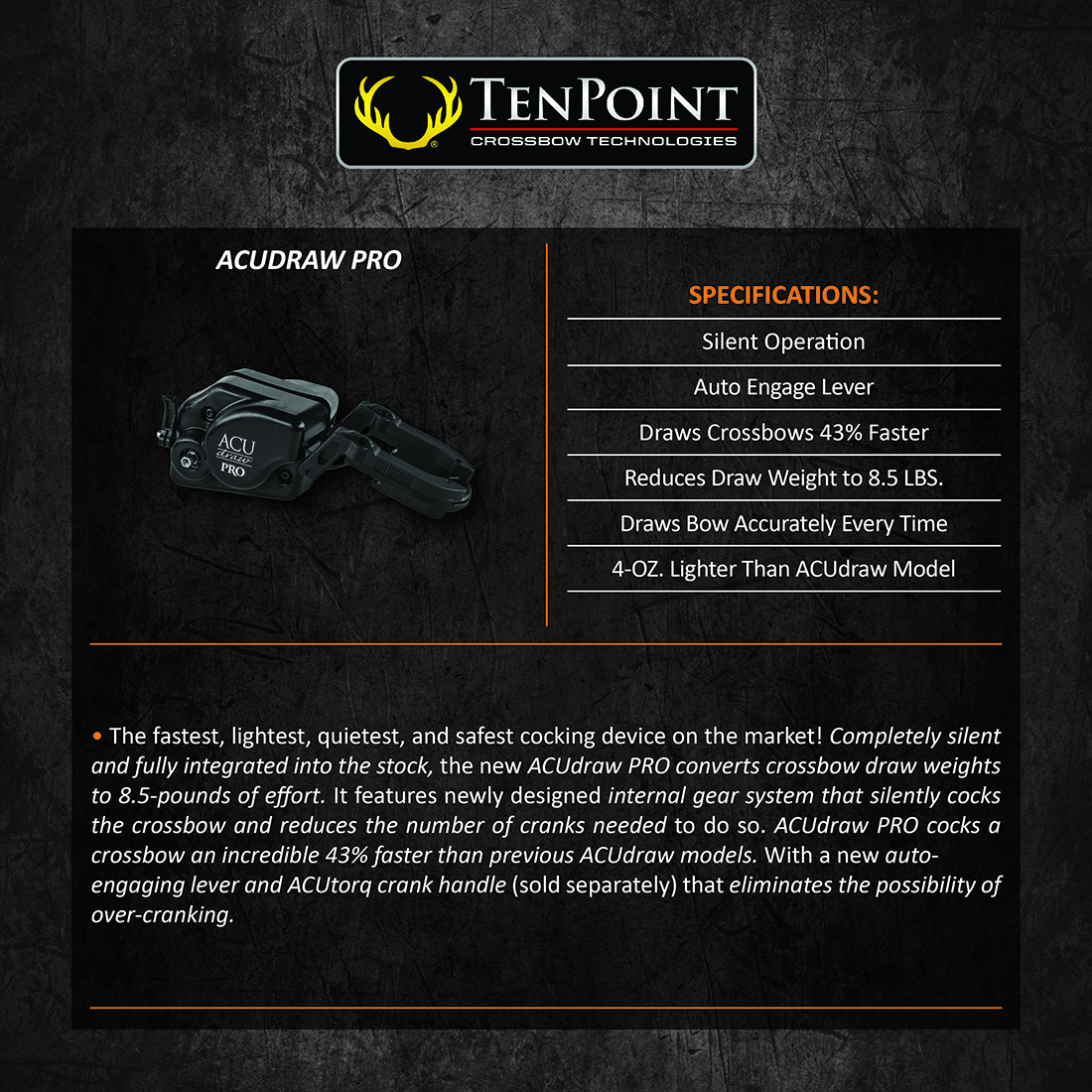 TenPoint_ACUdrawPro_Product_Description