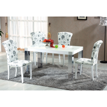 High Quality Modern Dining Room Furniture Tempered Glass Dining Table