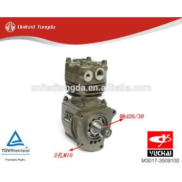 Aplicación del compresor de aire original M3017-3509100 para YuChai YC6M