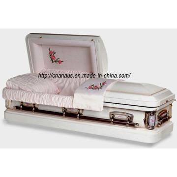Aço de 18GA caixão nos estilo (18H 1001)