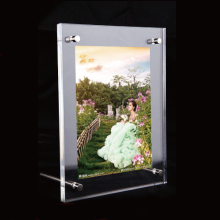 Magnetic Perspex Display Frames, Free Standing Acrylic Photo Frame