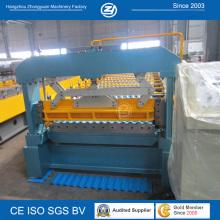 Machine de fabrication de panneaux de toiture en acier de couleur
