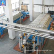 Máquina avançada de refino de óleo de palma com máquina de fracionamento de óleo de palma
