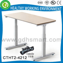 2015 Alibaba Sale to Nouth America Hieght adjustable desk with good wooden table top