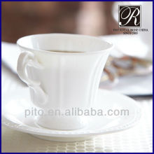 bone china coffee cup & saucer
