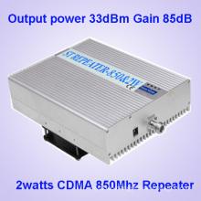 85dBm High Gain Cell Phone Signal Booster for CDMA 850MHz