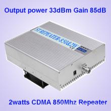 85dBm High Gain сотовый телефон сигнал бустер для CDMA 850MHz