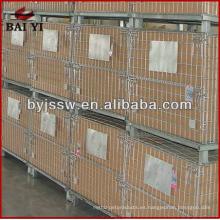 jaulas de almacenamiento de paletas metálicas
