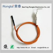 Electrode d'allumage pour poêles à gaz