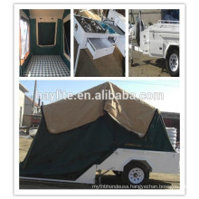 Luxury Folding Camper Trailer with canvas tent for sale HLT-04