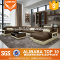 original design modern new style set sectional leather sofa in china