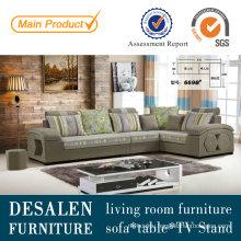 High Quality Modern Living Room Fabric Sofa (669B)