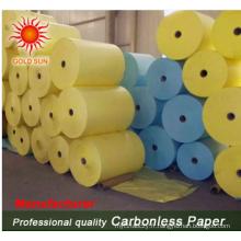 Rouleau de papier autocopiant de haute qualité