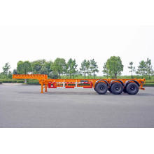 30 / 40ft três eixos Gooseneck contêiner reboque chassi (HZZ9402TJZ)