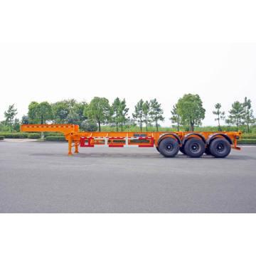 30/40 футов три оси гусиная шея контейнера прицеп шасси (HZZ9402TJZ)
