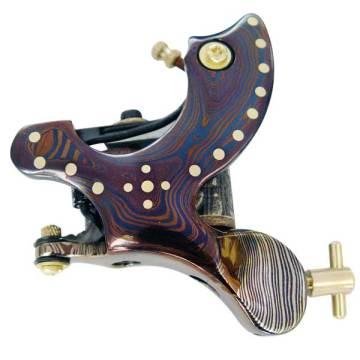 New Damascus Tattoo Machine Gun Shader and Liner