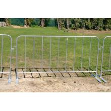 Galvanized Crowd Control Traffic Safety Barrier kualitas terbaik
