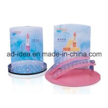 Kundengebundener Farbacryl-Gestell-Stand für Lippenstift