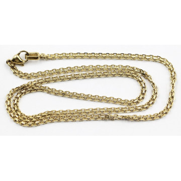 Fashion Gold Plated S. S. Doubel Layer Chain