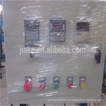 Máquina de valla de enlace de cadena semiautomática operada manualmente