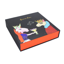 Custom Book-shape Rigid Gift Box