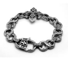 Cross Design Classic Design Men Punk & Rock Cuban Bracelets Body Jewelry
