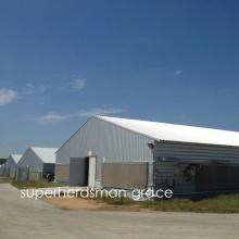 Hot Gavalnized Prefab Hühnerhaus für moderne Farm