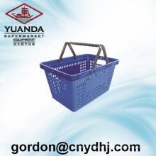 High Quality Small Hole Handle Shopping Basket Zc-4