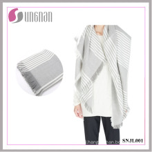 Europe and American Ladies Elegant Warm Imitated Cashmere Square Scarf