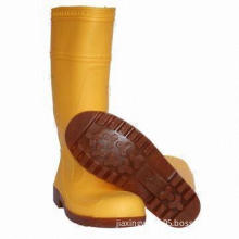 Men's Plastic Anti-slip Rain Boots, Comfortable, Durable, Various Styles and Colors Available